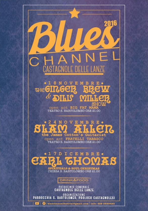 Blues Channel 2016.