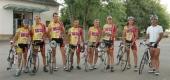 """Alcune tappe del tour organizzato dal Gruppo ciclistico """"Pedale Castagnolese"""""""