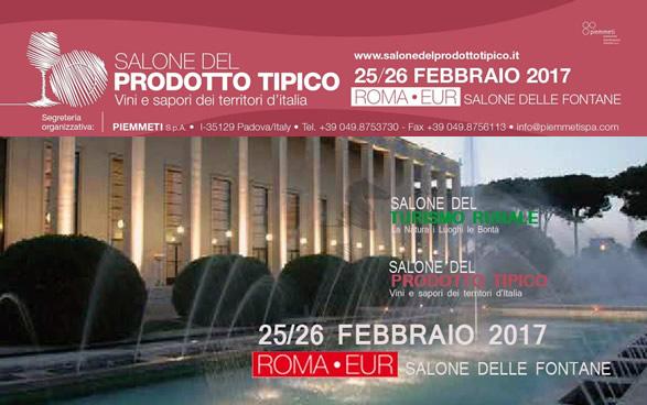Salone del prodotto tipico - Dal 25 al 26 febbraio 2017.